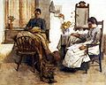 Albert Chevallier Tayler - Quiet Moments 1889.jpg