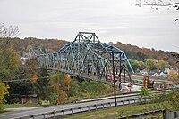 Albert Gallatin Memorial Bridge (1930 and 2009) - Side View.jpg