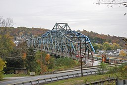 Albert Gallatin Memorial Bridge (1930 and 2009) - Side View.jpg