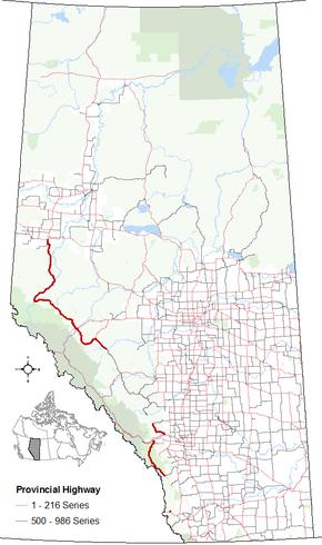 Alberta Highway 40 - Wikipedia on