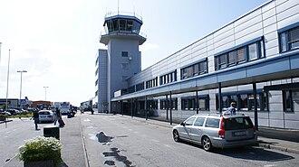 Ålesund Airport, Vigra - Image: Alesund lufthavn