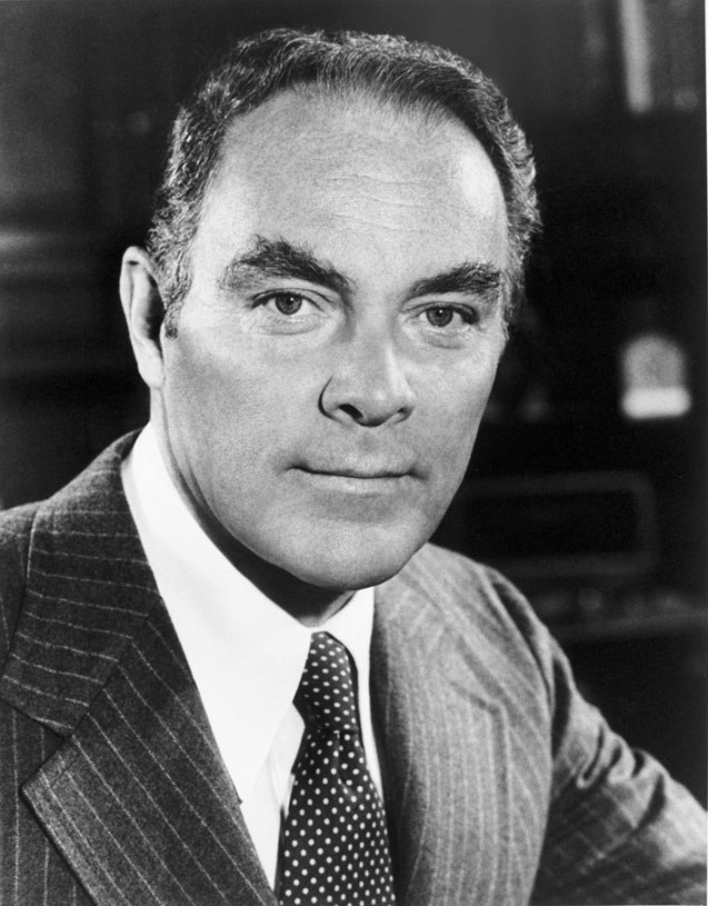 Alexander Haig photo portrait as White House Chief of Staff black and white