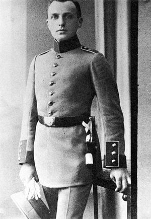 Alfred Lichtenstein (writer) - Alfred Lichtenstein in 1914