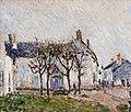 Alfred Sisley (1839-1899) - Village Street, Moret-sur-Loing - 2424 - Kelvingrove Art Gallery and Museum.jpg