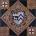 All Saints, Church Leigh. Tiles created by A.W.N Pugin. Peter Neaum. - panoramio.jpg