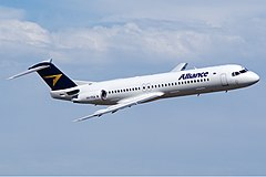 Alliance Airlines Fokker 100 Bundaberg Vabre-2.jpg