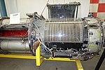 Allison J35 Turbojet, designed by General Electric, detail - Oregon Air and Space Museum - Eugene, Oregon - DSC09745.jpg