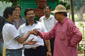 Aloke Kumar Das Shakes Hands with Arup Roy - Summer Camp - Nisana Foundation - Sibpur BE College Model High School - Howrah 2013-06-09 9743.JPG