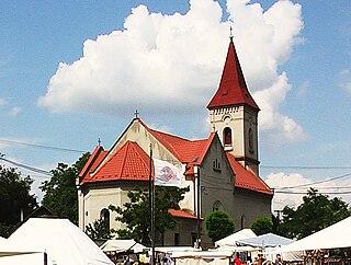 Dolné Saliby Village in Slovakia