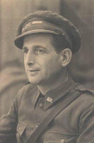 La Nueve - Amado Granell in 1936.