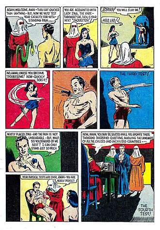 Iron Fist (comics) - Image: Amazing Man Comics 5 page 05