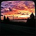 Ambassador Bridge Sunset (5612259468).jpg