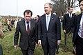 Ambassador Vladimir M. Grinin and Ambassador John B. Emerson - Elbe Day 2015 in Torgau.jpg
