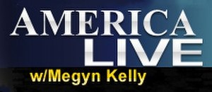 America Live with Megyn Kelly - Image: America Live logo