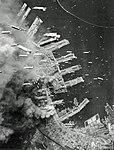 American bombs falling on Kobe.jpg