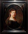 Amsterdam - Rijksmuseum 1885 - The Gallery of Honour (1st Floor) - Portrait of Saskia van Uylenburgh 1633 by Rembrandt van Rijn.jpg