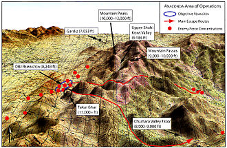 Battle of Takur Ghar - Location of Takur Ghar
