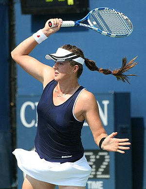Anastasia Pavlyuchenkova - Pavlyuchenkova at the 2010 US Open