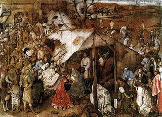 L'Adoration des mages (Brueghel, 1556)