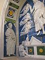 Andrea della robbia, resurrezione coi santi bartolomeo e bernardo, 1500-1525 ca. 03.JPG