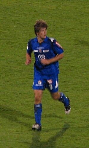 Andrej Kramarić - Kramarić playing for Dinamo Zagreb, 2009.