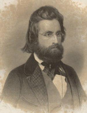 Andrew Jackson Davis - Andrew Jackson Davis, about 1860