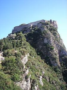 Festung Angelokastro auf Korfu