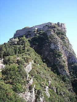 Angelokastro in Corfu