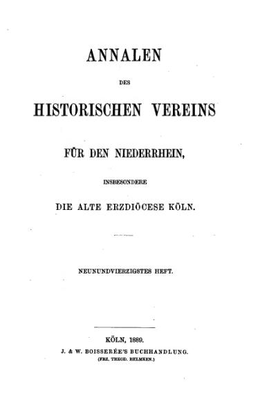File:Annalen des Historischen Vereins für den Niederrhein 49 (1889).djvu