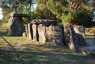 Dolmen of Cunha Baixa dolmen in Cunha Baixa, Portugal