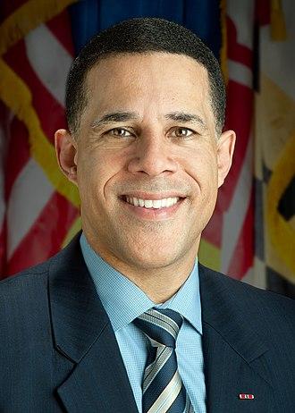 Anthony G. Brown - Brown's Lt. Governor portrait