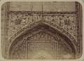 Antiquities of Samarkand. Madrasah of Nadir Divan-Begi, Congregational Mosque (Friday Mosque). Inscriptions of the Inner Niche of the Main Entry Above a Window WDL3787.png