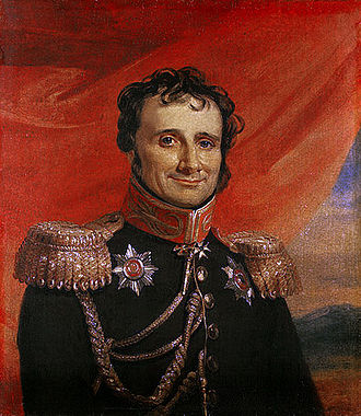 Antoine-Henri Jomini - Portrait by George Dawe from the Military Gallery of the Winter Palace.