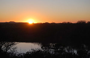 Antonelli Pond - Sunset (February 2008)