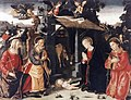 Antoniazzo Romano - Nativity with Sts Lawrence and Andrew - WGA00767.jpg