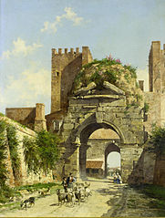 The Arch of Drusus, Rome