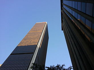 Aon Center (Los Angeles) - Image: Aon Cneter Downtown LA