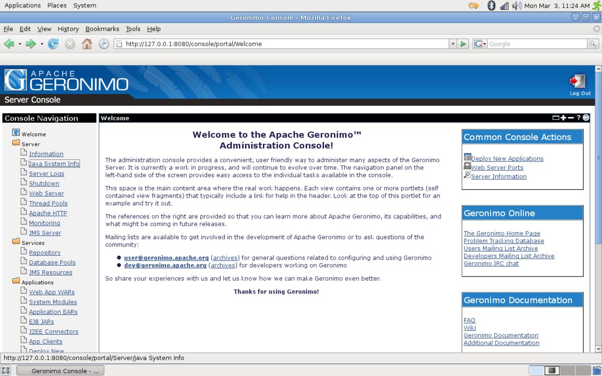 Apache Geronimo - Wikipedia