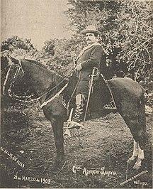 Uruguay-Prospérité économique et crise-Aparicio Saravia el 21 de Marzo de 1903