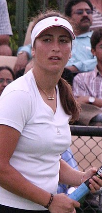 Aravane Rezai 2007 Australian Open womens doubles R1.jpg