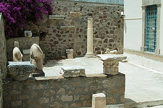 Archaeological Museum of Milos - Image: Archaeological Museum of Milos, Lapidary, 152665