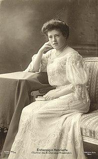 Archduchess Maria Henrietta of Austria