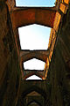 Arches over well for water, Rohtas Fort..jpg