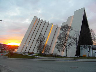 Arctic Cathedral - Image: Arctic Cathedral Midnight Sun