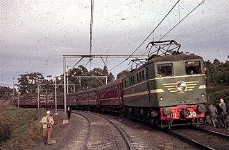 Excursion train - Image: Arhs 4501 berowra