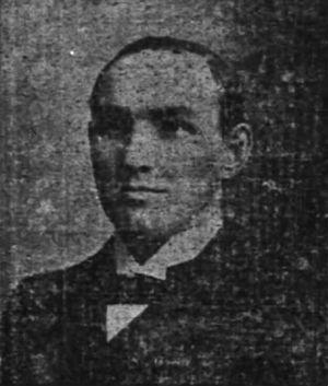 1895 College Football All-Southern Team - Arlie C. Jones