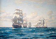 Armada Chile 1era Escuadra nacional