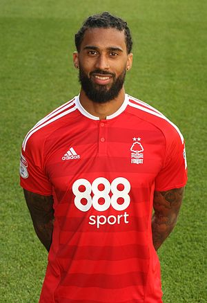 Armand Traoré - Traoré with Nottingham Forest in 2016