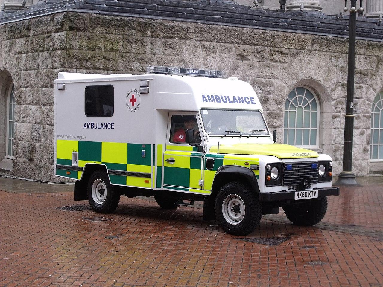 file armed forces day birmingham red cross ambulance. Black Bedroom Furniture Sets. Home Design Ideas