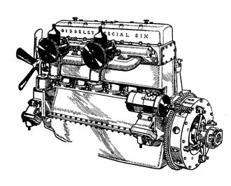 Hiduminium - Six cylinder, 5 litre, all-Hiduminium engine for the Armstrong Siddeley Special